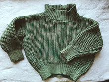 Load image into Gallery viewer, Plant Dyed Pullover - Green