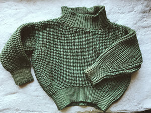 Plant Dyed Pullover - Green