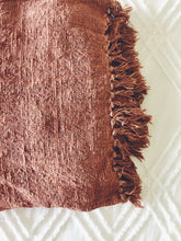 Load image into Gallery viewer, Handspun Cotton Blanket (Blush) SALE PRICE