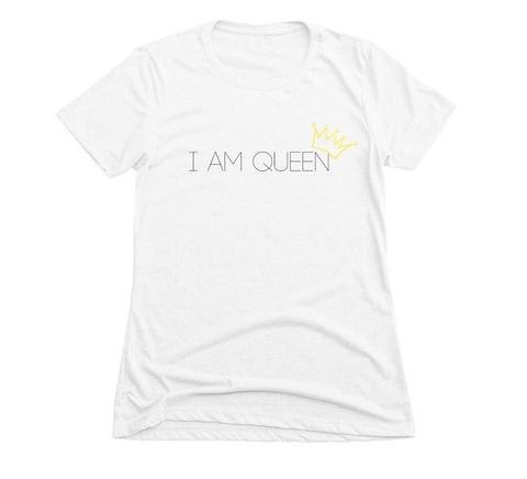I Am Queen - White