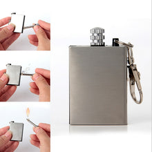 Metal match Instant Emergency Fire Starter Flint Match Lighter Outdoor Lighter Survival Tool Safety Durable Camping Hike travel
