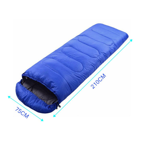 Portable Lightweight Envelope Sleeping Bag with Compression Sack for Camping Hiking Backpacking