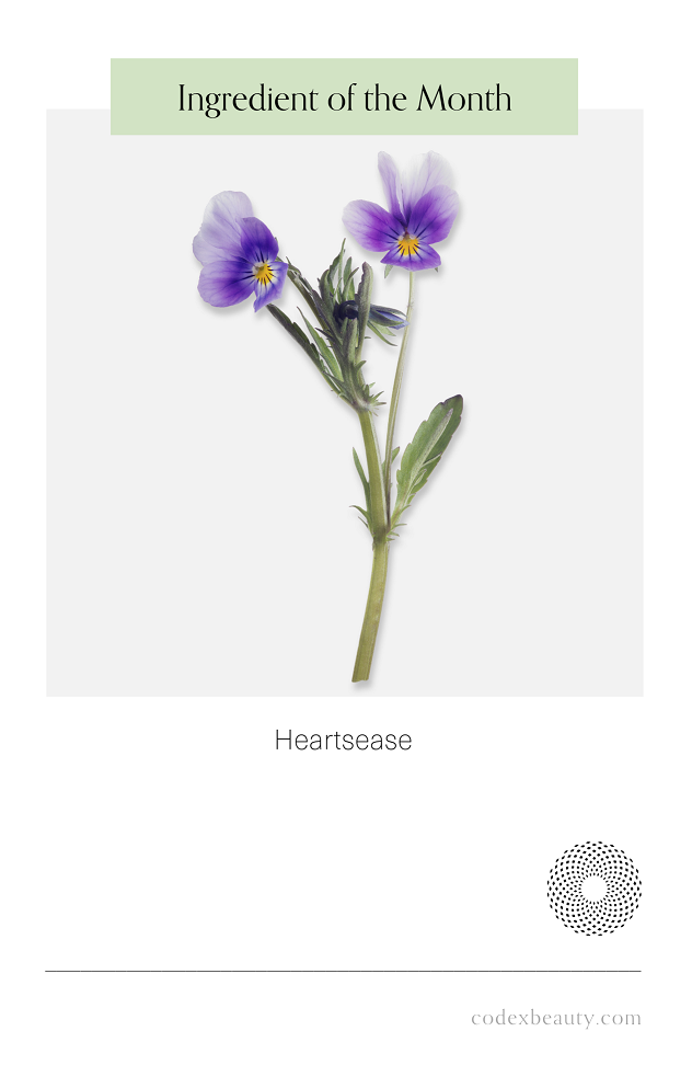Ingredient of the Month: Heartsease