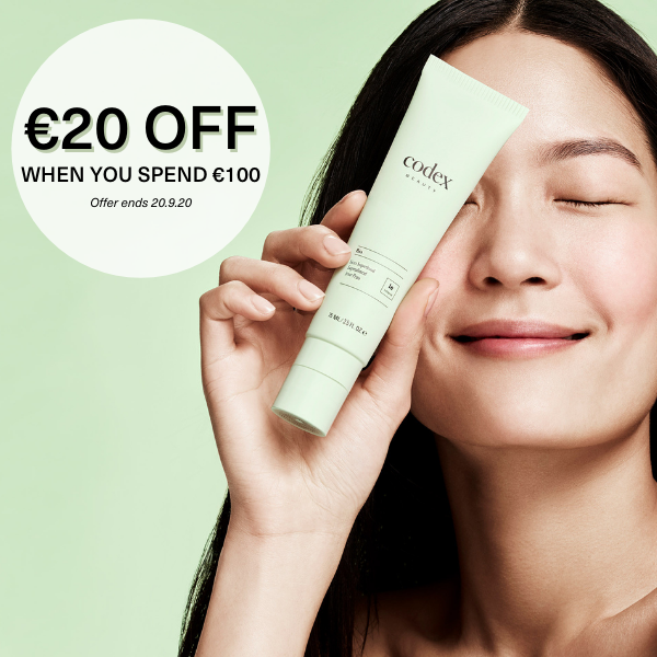Don't miss out on the chance to see real results in your skin. For a limited time, take €20 off your order when you spend €100+ with code SAVE20.