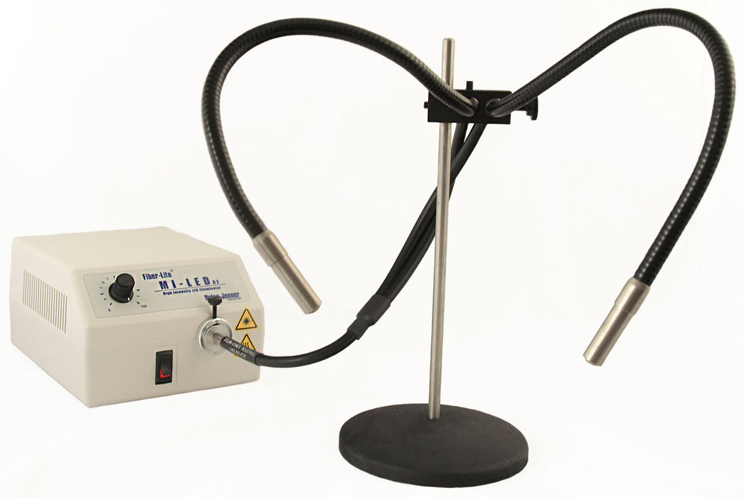 MS-8 Fiber Optic Stand for EEG4 dual gooseneck series