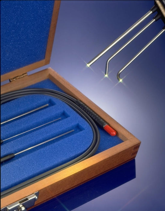 LT7 LT-7 Small Diameter Fiber Optic Probe (Pipets) Kits.  4 Variations - choose sheathing and light source end ferrule.