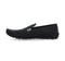 Barefoot Black Loafers Lace Up Suede For Men 6070-BL