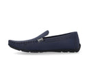 Barefoot Navy Blue Loafers Lace Up Suede For Men 6070