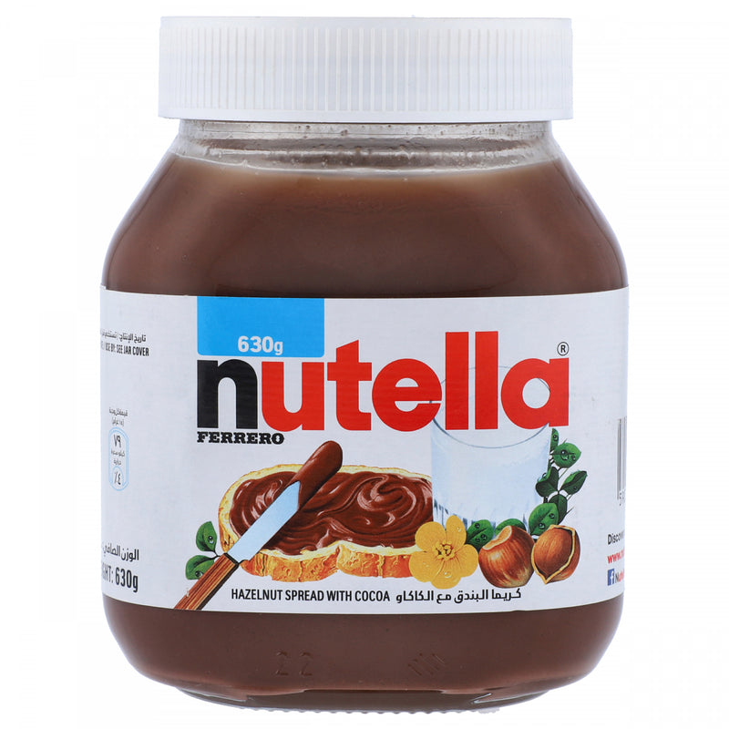 Ferraro Nutella Hazelnut Spread with Cocoa 630g