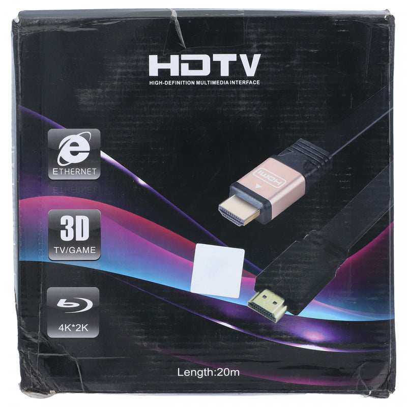 HDTV Cable 20m Black