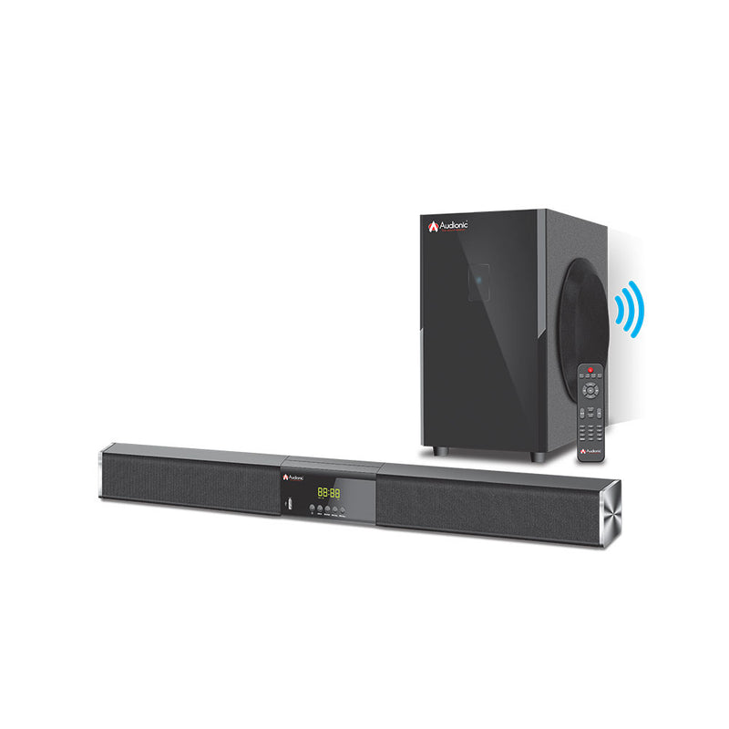Audionic Monster Ms-10 (Wireless Soundbar With Hdmi & Optical)