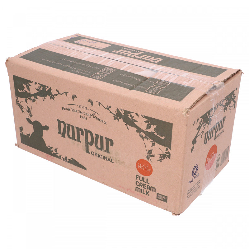 Nurpur Original Full Cream Milk 24 x 250ml