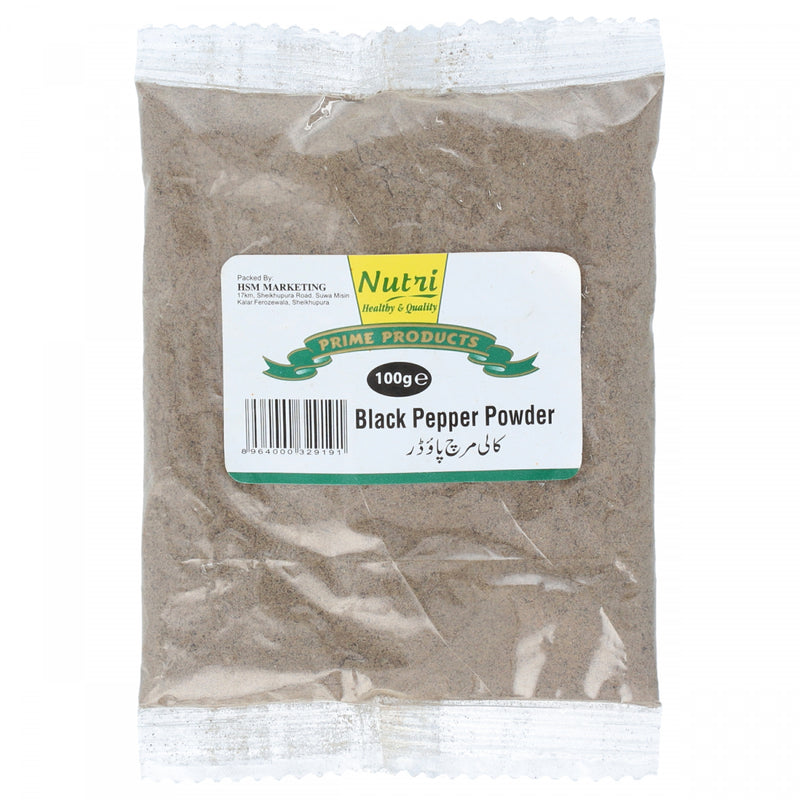 Nutri Black Pepper Powder 100g