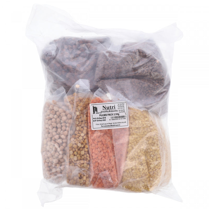 Nutri Healthy and Quality Pulses Pack 2.5kg