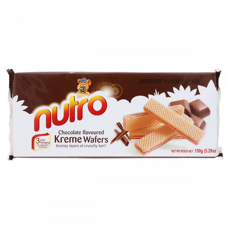 Nutro Chocolate Flavoured Kreme Wafers 150g