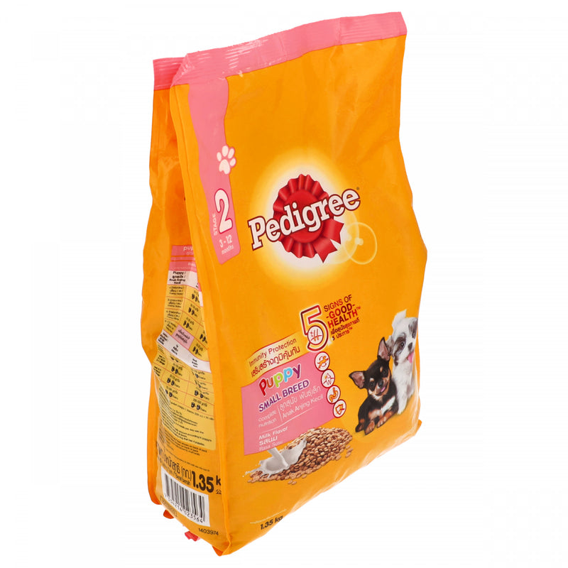 Pedigree Stage 2 Small Breed Milk Flavour Dog Food 3 to 2 months 1.35Kg