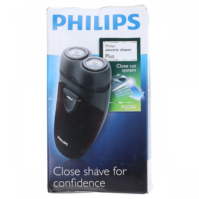 Philips Close Cut System Electric Shaver Plus PQ206 Black
