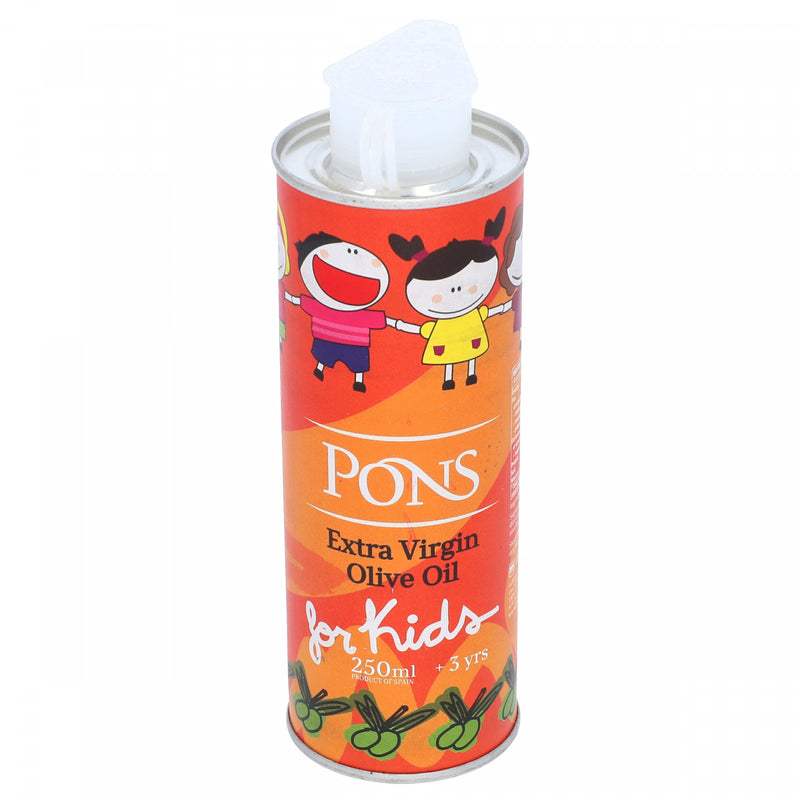 Pons Extra Virgin Olive Oil For Kids 250ml