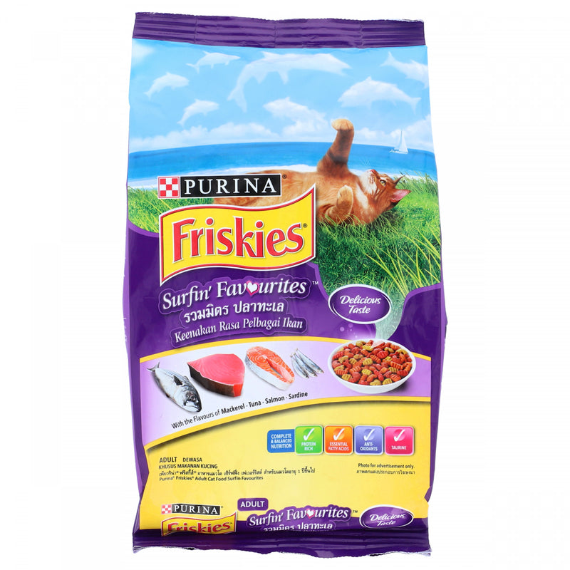 Purina Friskies with the Flavor of MackerelTunaSalmon and Sardine 450g