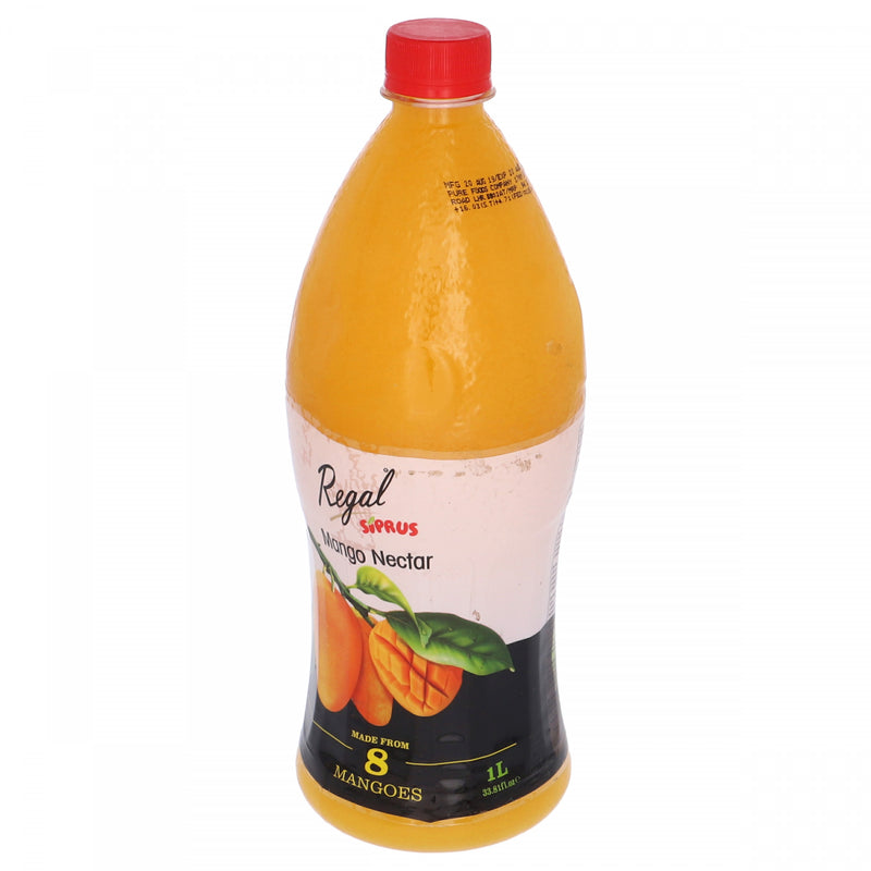 Regal Siprus Mango Nectar Fruit Drink 1 Litre