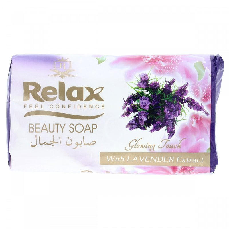 Relax Beauty Soap Glowing Touch with Lavender Extracts 150g