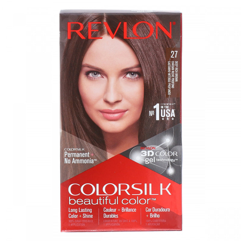 Revlon Deep Rich Brown Color SIlk Hair Color