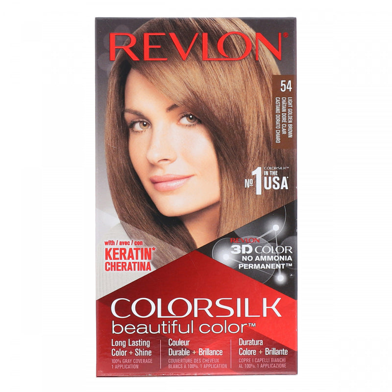 Revlon Light Golden Brown Color Silk Hair Color