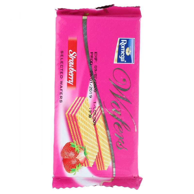 Romega Strawberry Wafer 65g