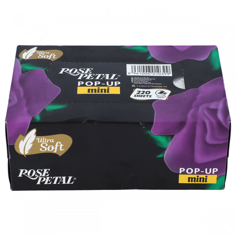 Rose Petal Pop Up Tissue 110 x 2 Ply Box