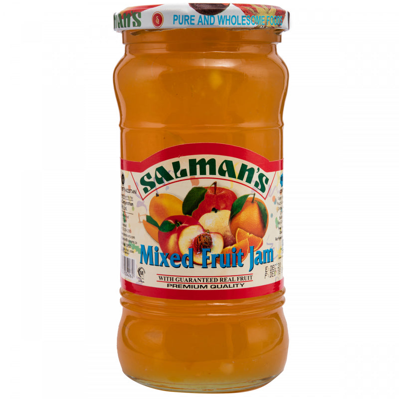 Salmans Mixed Fruit Jam 900g