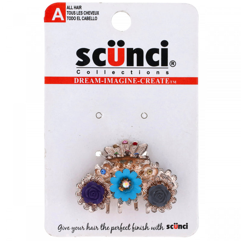 Scunci Collections All Hair Flowers Hairclip