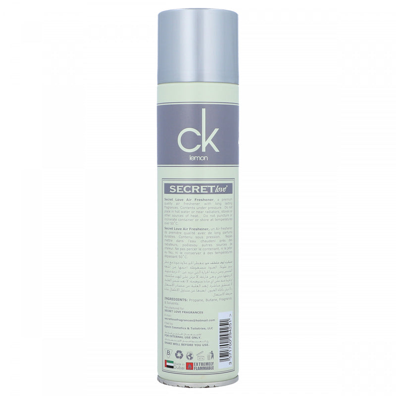 Secret Lotion CK Lemon Air Freshener 300ml
