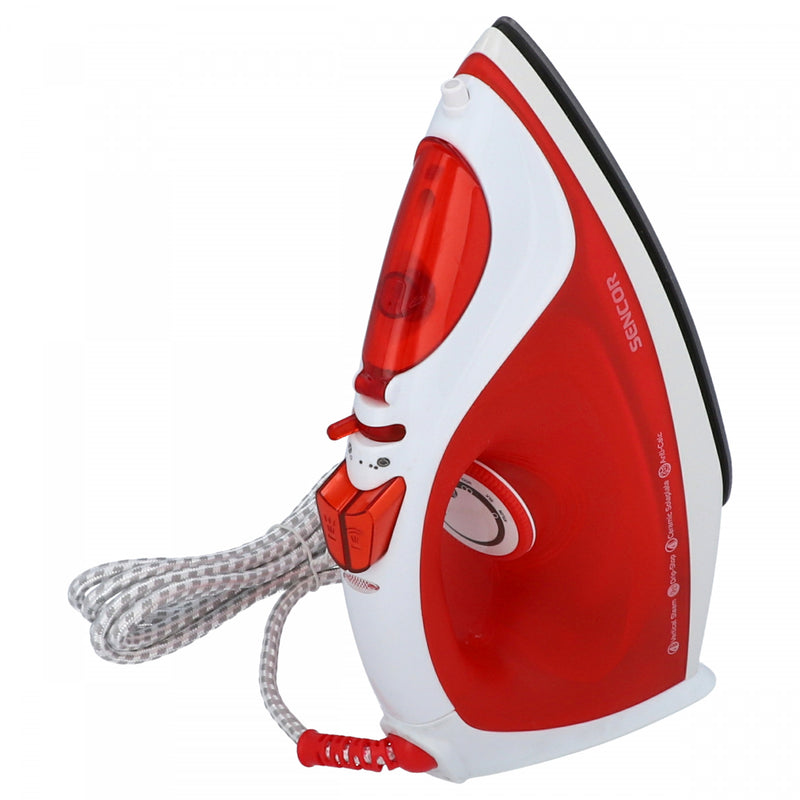 Sencor Ceramic Sole Plate Steam Iron SSI 5420RD Red