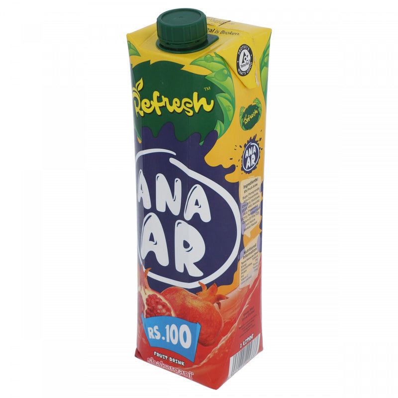 Shakarganj Refresh Anar Fruit Drink 1 Litre