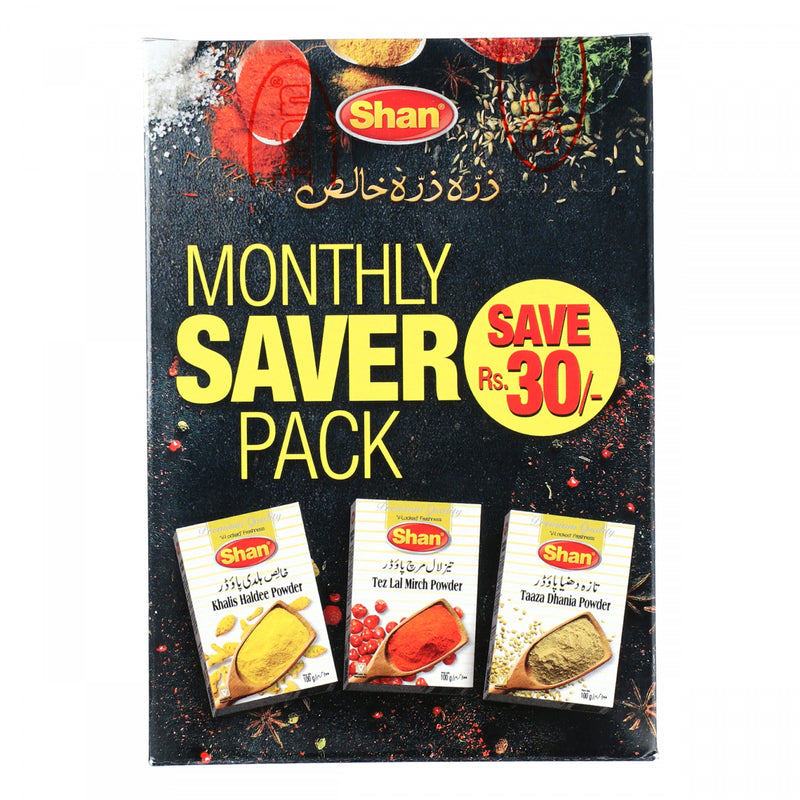 Shan Spices Grocery Pack 300g