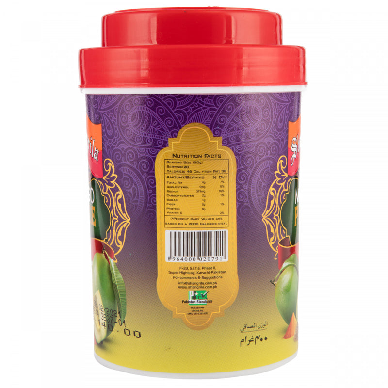 Shangrila Mango Pickle in Oil 400g