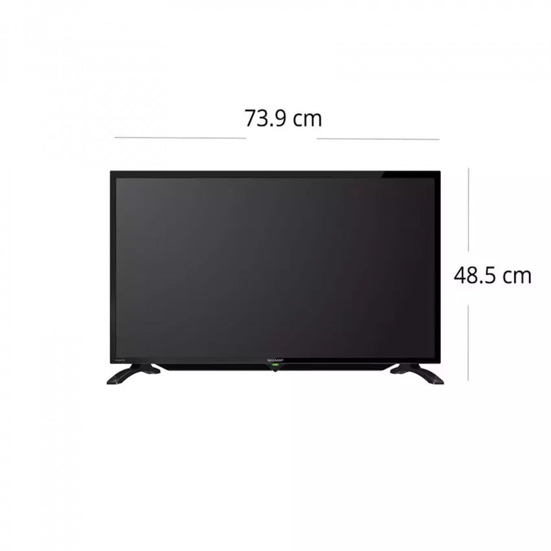 Sharp 32 HD LED TV LC-32LE185M Black