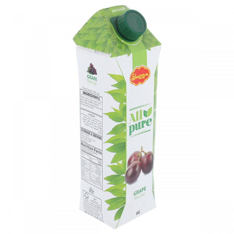 Shezan All Pure Grape Nectar 1 Litre