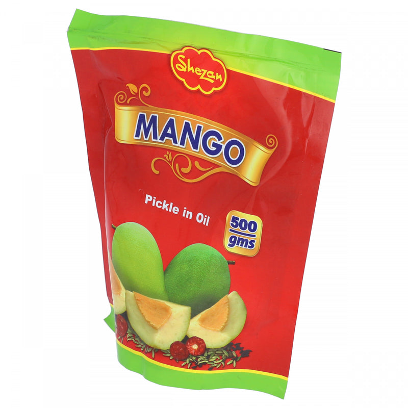 Shezan Mango Pickle in Oil 500g Pouch