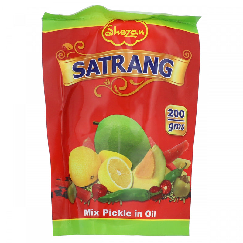Shezan Satrang Mixed Pickle in Oil 200g