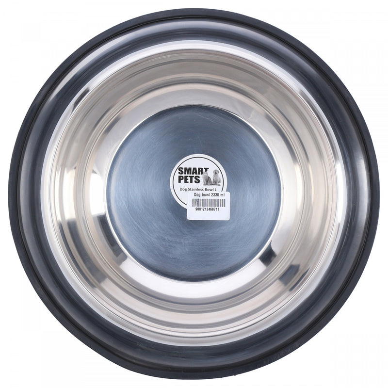 Smart Pets Dog Stainless Bowl L 2330ml