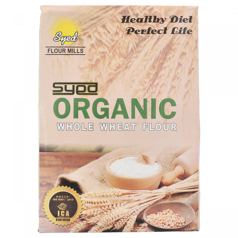 Syed Organic Whole Wheat Flour 2 Kg