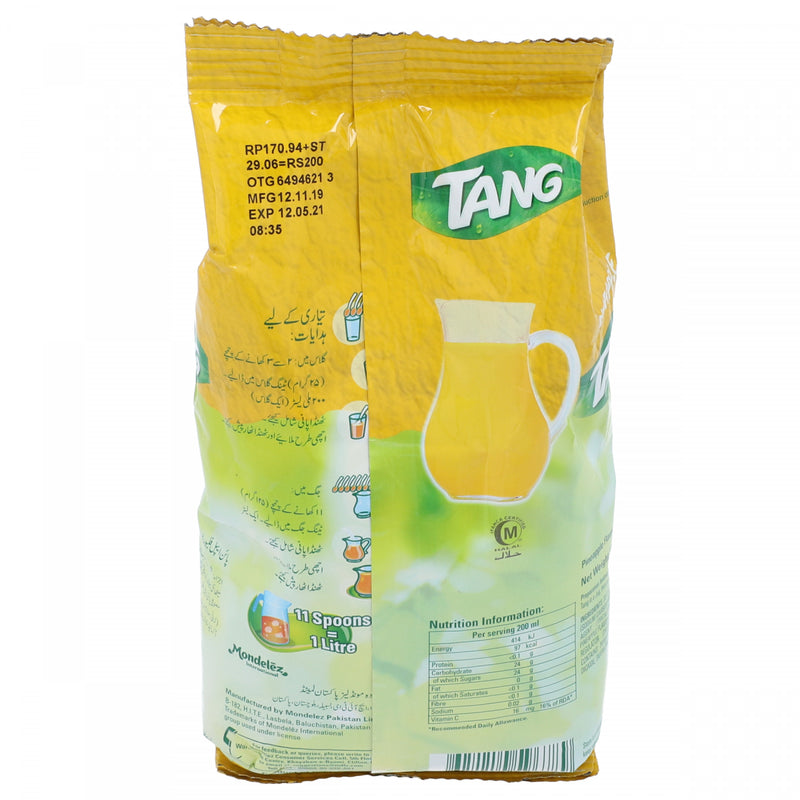 Tang Pineapple Flavored Powdered Drink 375g