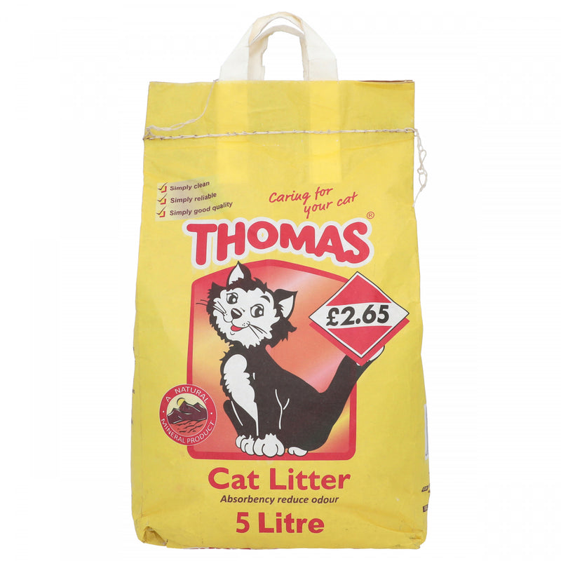 Thomas Cat Litter Absorbency Reduce Odour 5 Litre