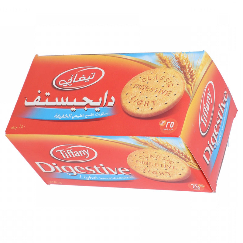 Tiffany Digestive Light Biscuit 250g