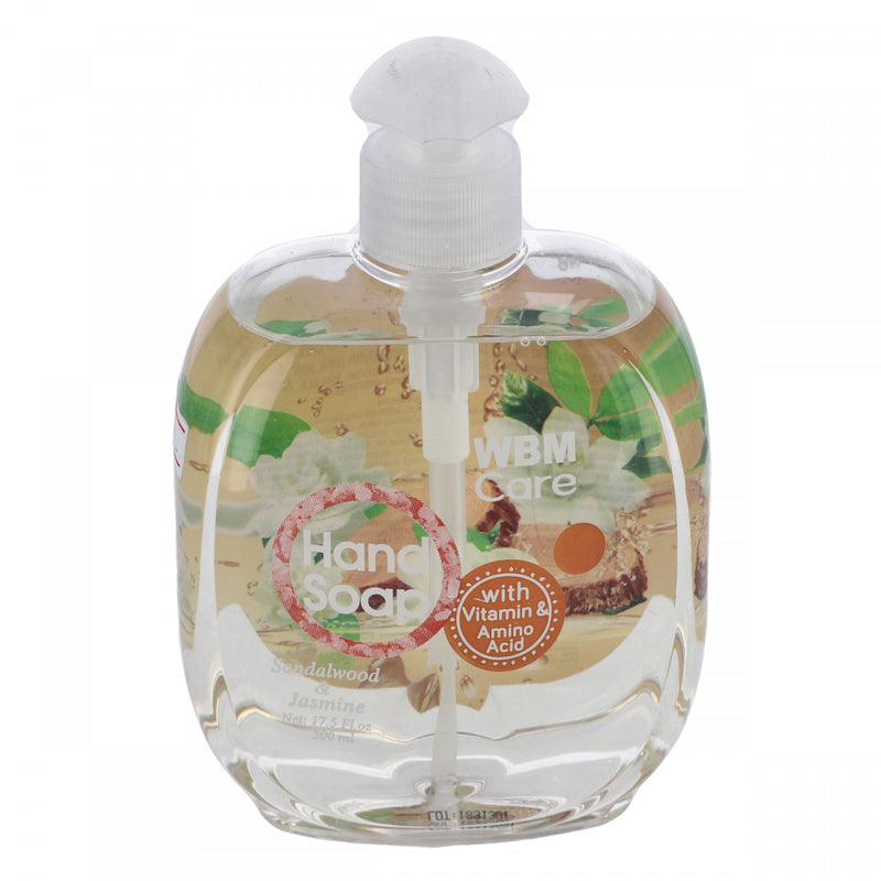 WBM Care Sandalwood & Jasmine Hand Soap 500ml