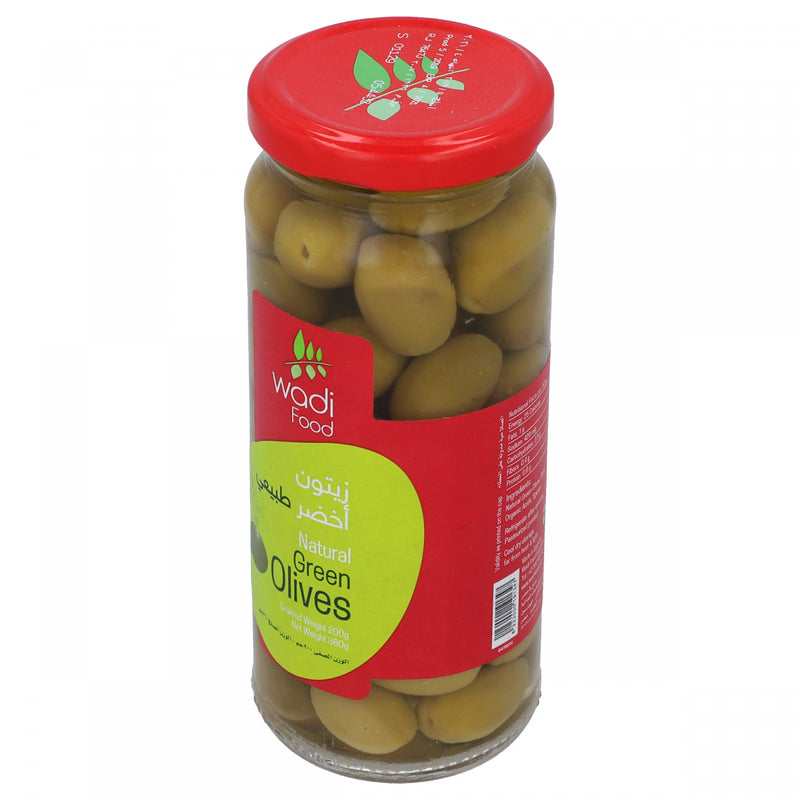 Wadi Food Green Olives 360g