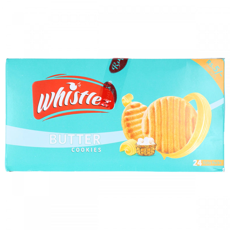 Whistlez Butter Cookies 24 Ticky Packs