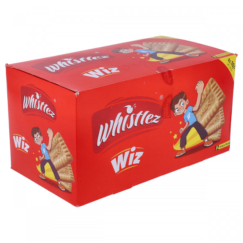 Whistlez Wiz 12 Snack Packs