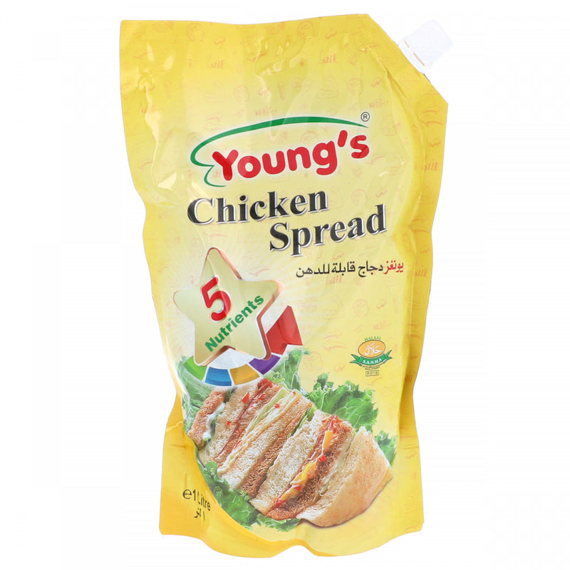 Youngs Chicken Spread 1Ltr Pouch
